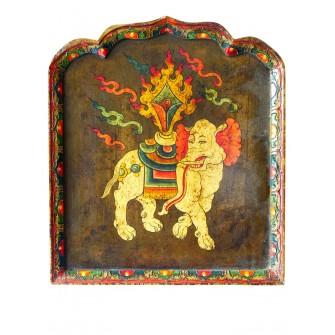 Panneau décoratif tibétain