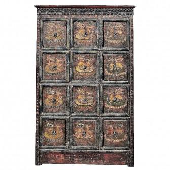 Cabinet d'Apothicaire Tibétain