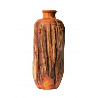 Vase en bois brut