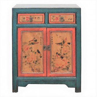 Cabinet peint du Shanxi