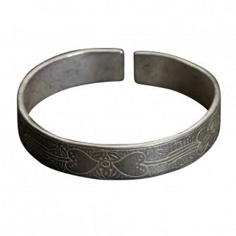 Bracelet en argent Miao Aux...