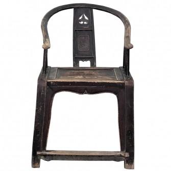 Paire de chaises d'époque Qing