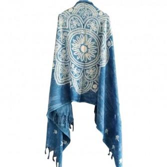 Echarpe en batik Bai