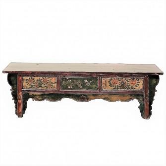 Table de kang du Gansu