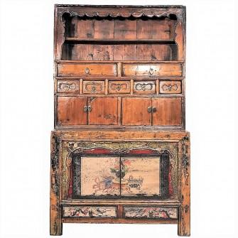 Autel du Gansu d'époque Qing
