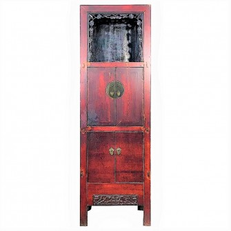 Cabinet présentoir ou Wanli...