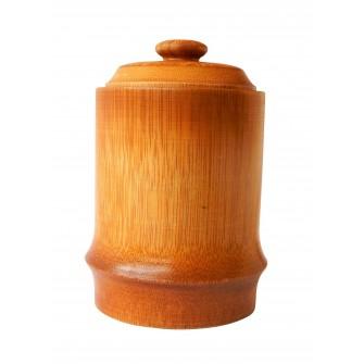 Boîte à thé cylindrique en...