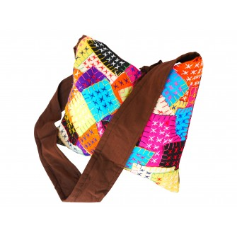 Sac à main Miao en patchwork