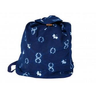Petit sac à dos en batik Bai