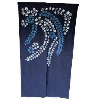 Voile de porte en batik Bai...
