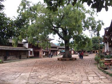 Place carrée de Shaxi